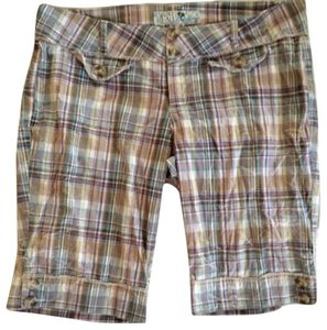 Joit Bermuda Shorts Plaid