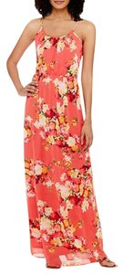 Maxi Dress by Coral cami print