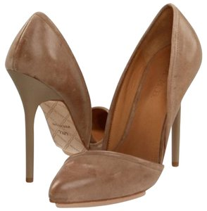 L.A.M.B. Tan Pumps
