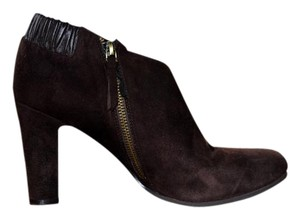 Ann Taylor LOFT Leather Suede Tassels Brown Boots