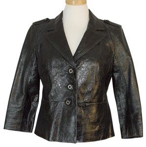 Tory Burch Leather black Leather Jacket