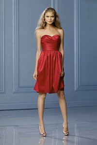 Wtoo Cherry Watters Watters 473 Destination Bridesmaid/Mob Dress Size 14 (L)