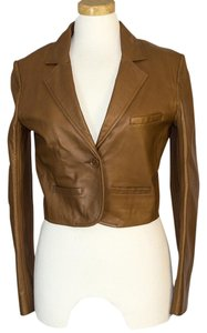 See by Chloé Chloe Leather brown Leather Jacket