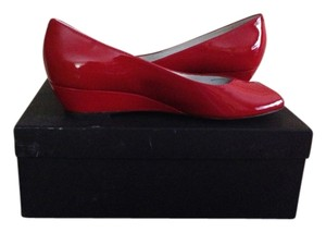Marc by Marc Jacobs Red patent Wedges
