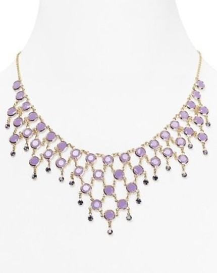 Kate Spade Brand NWT Kate Spade Sparkle Dunes Necklace Beautiful Exquisite Lilac Faceted Crystals