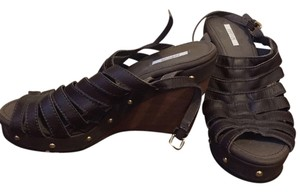 Geox Studed Brown Sandals