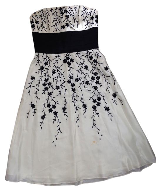 Black and White Market Dress