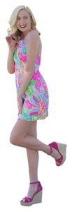 Lilly Pulitzer short dress multi so a peeling on Tradesy