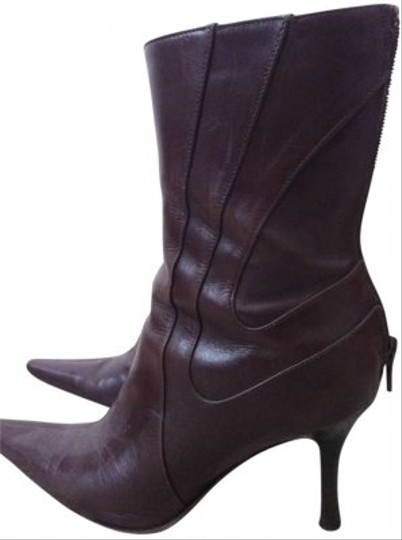 Charles David Leather Brown Boots