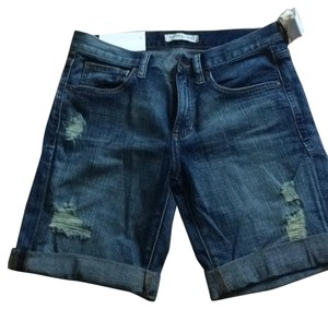 Banana Republic Cut Off Shorts Blue
