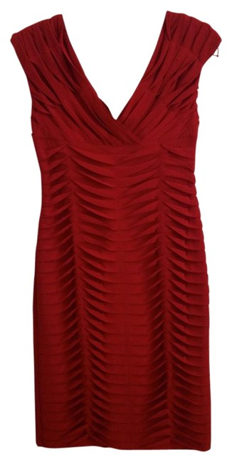 Preload https://img-static.tradesy.com/item/16791658/adrianna-papell-deep-red-without-knee-length-cocktail-dress-size-4-s-0-1-650-650.jpg