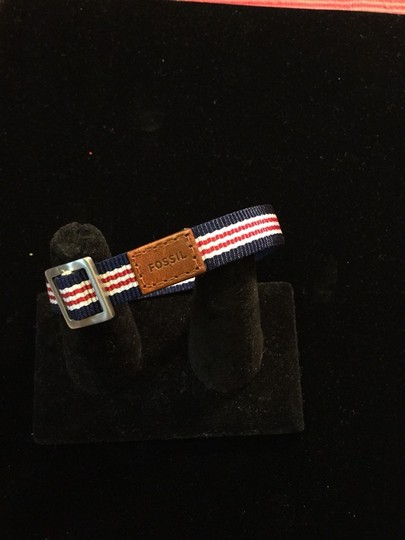Fossil Fossil Red, White and Blue Bracelet