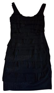 Nine West Cocktail Ruffles Form Fitting Dress