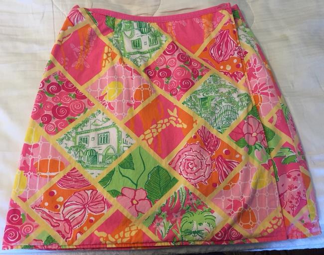 Lilly Pulitzer Skirt Multi Print
