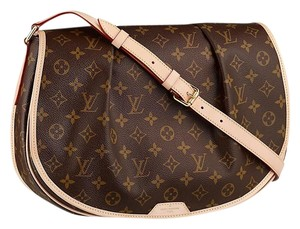 Louis Vuitton Menilmontant MM large Crossbody Messenger Shoulder Bag with dust bag and tags retail $2150 will take Cross Body Bag