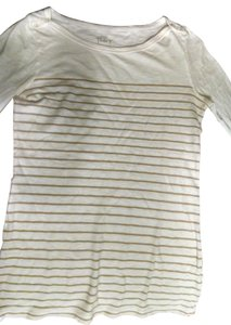 J.Crew Top White/beige