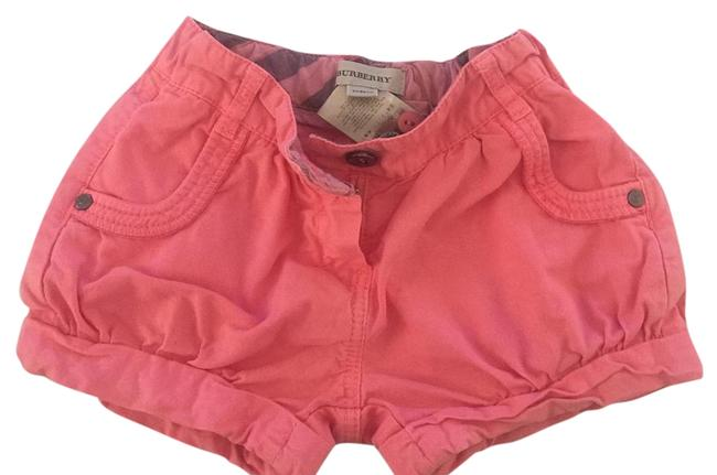 Item - Coral Denim Shorts Size OS (one size)