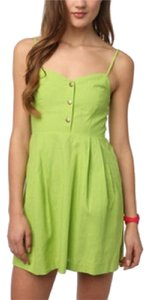 COPE short dress Lime green on Tradesy