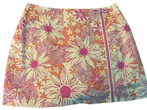 Lilly Pulitzer Skirt Orange/Pink