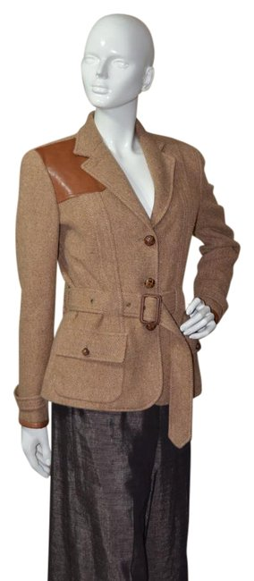 Preload https://img-static.tradesy.com/item/16794004/ralph-lauren-blue-label-tan-equestrian-riding-spring-jacket-size-6-s-0-1-650-650.jpg