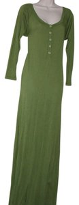 green Maxi Dress by daftbird