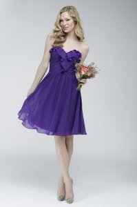 Wtoo Pansy Watters Watters 704 Modest Bridesmaid/Mob Dress Size 14 (L)