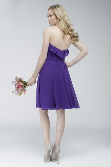 Wtoo Pansy Watters Watters 704 Modest Bridesmaid/Mob Dress Size 14 (L) Image 1