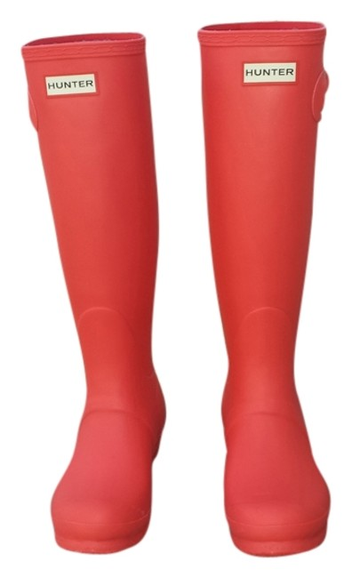 Item - Coral Stripe Boots/Booties Size US 7 Regular (M, B)
