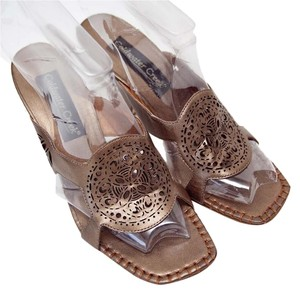 Coldwater Creek Copper Brown Sandals