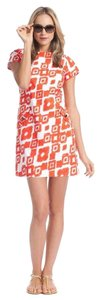 Shoshanna short dress Mandarin(Orange) on Tradesy