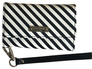 Kate Spade Wristlet in Black/ White
