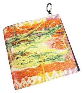 KARA KARA Color Yarn Print Leather Wallet