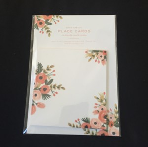 Rifle Paper Co. Dusty Rose Place Cards (9 Packages Of 8)