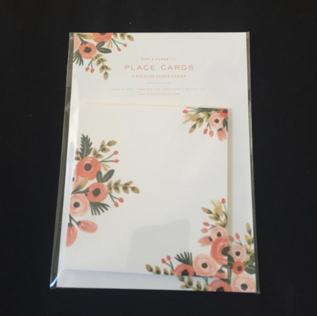 Item - Rifle Paper Co Dusty Rose Place Cards