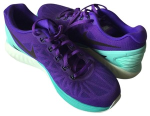 Nike Lunarglide Hyper Turquoise Cross Trainers Hyper Grape Athletic