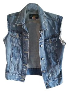 Lucky Brand Distressed Vest