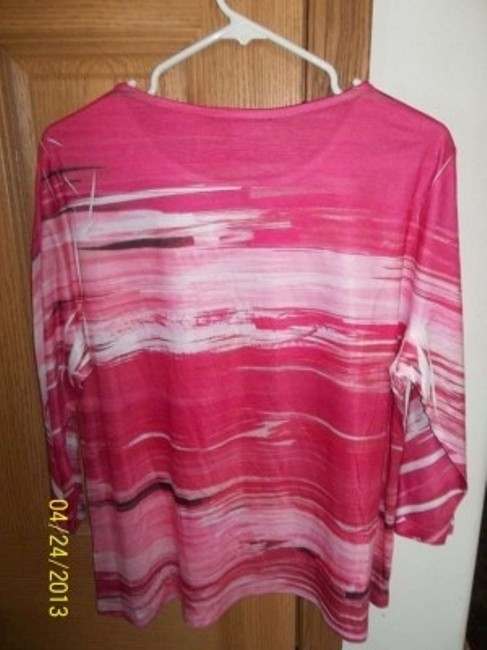Breckenridge Cancer Tag Long Sleeve Lightweight Made In Vietnam Polyester Sweater