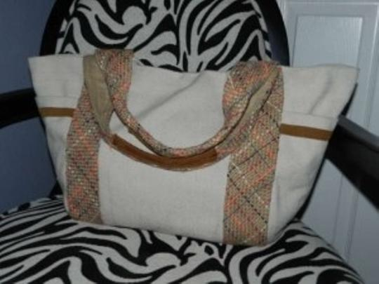 American Eagle Outfitters Tote in Tan/ Khaki