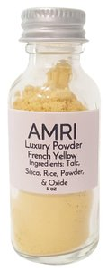 AMRI Amri Mineral Translucent Tinted Luxury Powder Highly Pigmented Matte Yellow