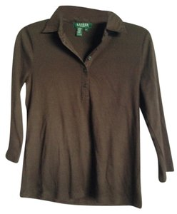 Ralph Lauren T Shirt Brown