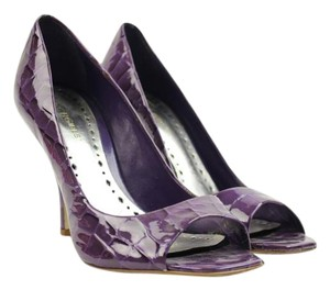BCBGeneration Embossed Purple Pumps
