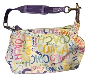 Coach Sateen Fabric Hobo Bag
