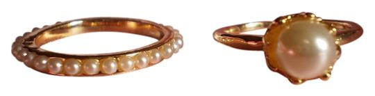Other New Faux Pearls on Goldtone (size 8)