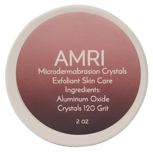 AMRI MICRODERMABRASION CRYSTALS ALUMINUM OXIDE CRYSTALS EXFOLIANT FACIAL SKIN CARE 120 GRIT