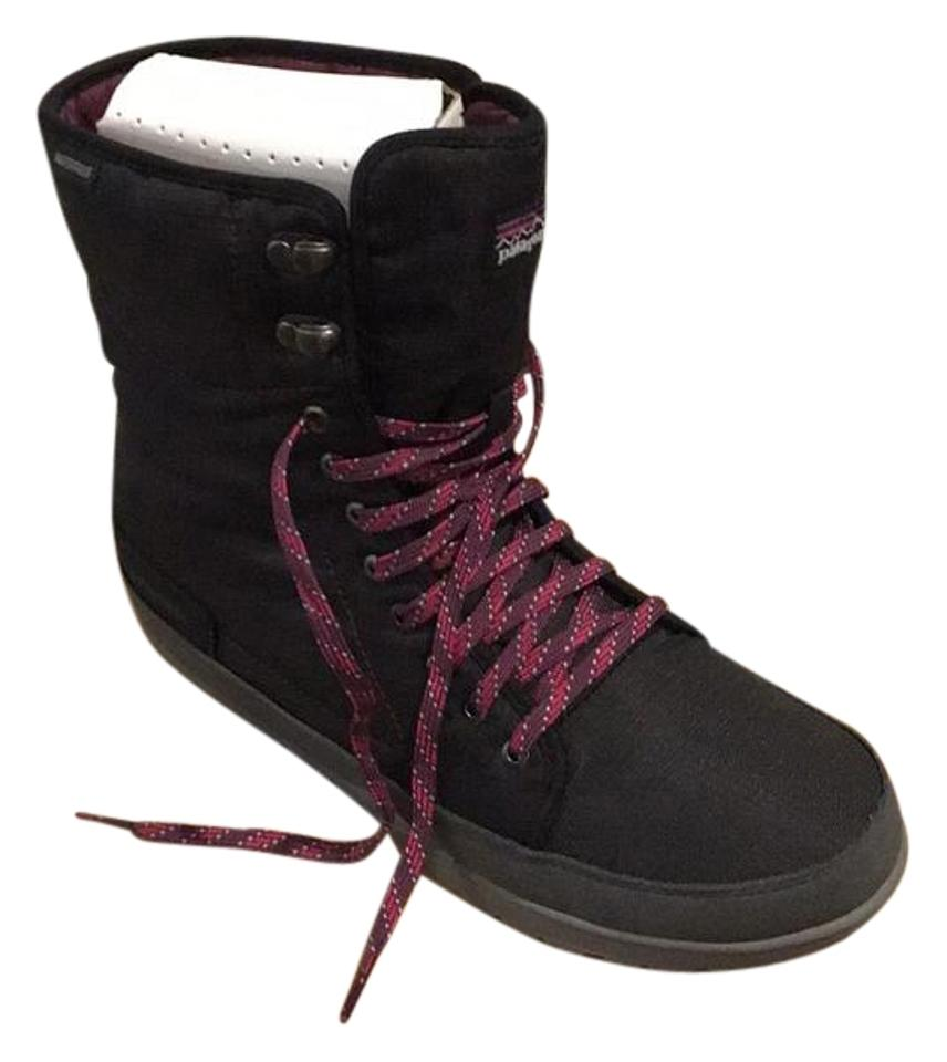 WOMENS Patagonia highly Black/Multi Snow Boots/Booties Won highly Patagonia esteemed and widely trusted at home and abroad fdf19b