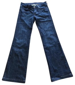 Paper Denim & Cloth Boot Cut Jeans-Dark Rinse