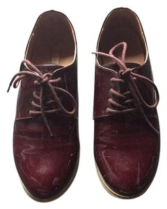 Cooperative Oxford Oxblood Work Patent Lace-up Oxblood maroon Flats