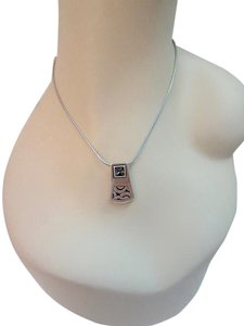 Brighton Bloc Haus Reversible Pendant Necklace Swarovski Crystal