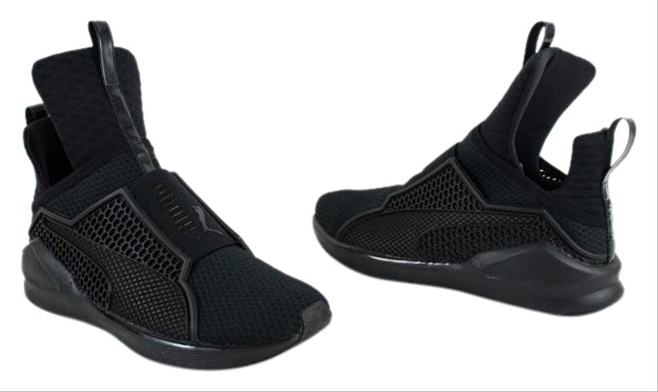 low priced c5247 a04c5 Puma Triple Black X Rihanna Fenty Women's Trainer Sneakers Size US 7  Regular (M, B)