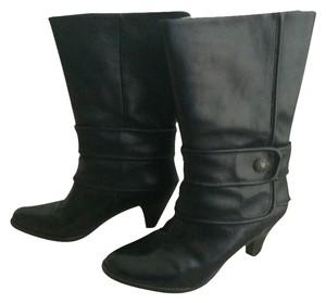Frye Leather Button Boot Black Boots